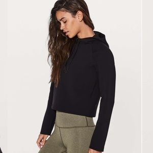 LULULEMON Tech Lux Black Pullover Hoodie